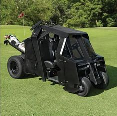 Gotham Golfcart lets you golf like Bruce Wayne » Coolest Gadgets