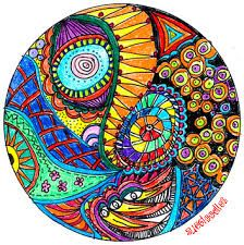 Image result for zentangle color