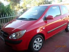 HYUNDAI GETZ FOR SALE RED IN COLOR . ONE ONLY DONE 4385 KMS AS NEW CONDITION. AIR CONDITIONED, TINTED WINDOWS. NEW CAR WARRANTEE ONE LADY OWNER. SELLING DUE TO ILL HEALTH.
