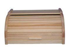 Chlebak drewniany duży olej