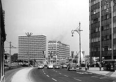 1967 Ernst-Reuter-Platz von der Hardenbergstrasse aus gesehen