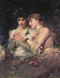 James Sant (1820--1916) was a British painter specializing in portraits