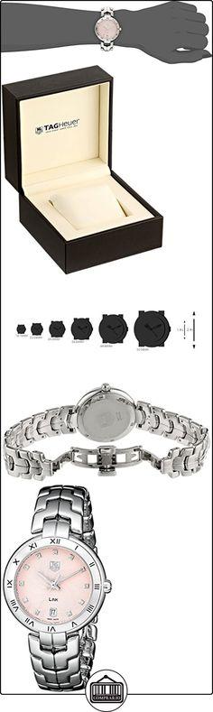 TAG Heuer reloj WAT1313. BA0956enlace analógico cuarzo plata para las mujeres  ✿ Relojes para mujer - (Lujo) ✿