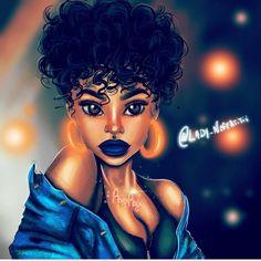 SARA NELL Velvet Throw Pillow Cases,Afro Girl African American Girl Bling Earrings,Pillow Covers Decorative in Pillowcase Cushion Covers with Zipper Black Love Art, Black Girl Art, Black Is Beautiful, Black Girl Magic, Black Girls, African American Girl, African Art, Art Et Design, Black Art Pictures