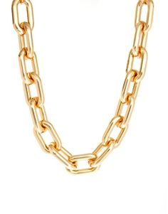 ASOS | ASOS Open Link Chain Collar Necklace at ASOS