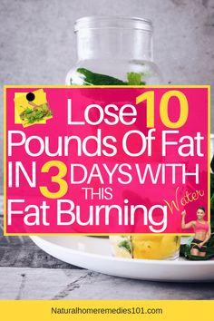 Fat Burning Detox Water Recipe Detox To Lose Weight, Loose Weight, Bloating Detox, Home Remedies For Fever, Cold Home Remedies, Natural Home Remedies, Flu Remedies, Homeopathic Remedies, Health Remedies
