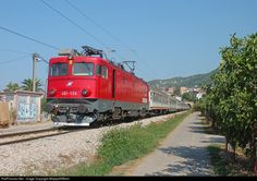 RailPictures.Net Photo: 461-136 ZS - Zeleznice Srbije ZS 461 at Bar, Serbia and Montenegro by MladjaSRB441