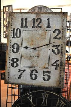 large square clock