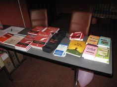 L'angolo dei libri a #WWR14