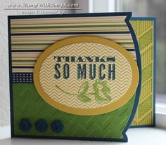 Oh, Hello in Midnight, Gumball and Starfruit by amyk3868 - Cards and Paper Crafts at Splitcoaststampers