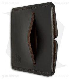 Greg Stevens Design Slim(mer) V2 Wallet Black Leather - Blade HQ