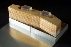 Wood + Acrylic model