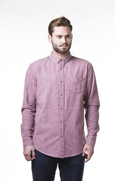Oxford - oxblood red – Arbor Apparel