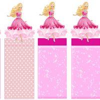 Barbie: Envoltorios Especiales para Golosinas, para Imprimir Gratis.