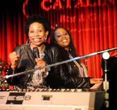 Rachelle Ferrell and Lalah Hathaway