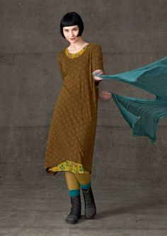 """""""Durum"""" viscose jersey dress – SALE - Skirts & dresses – GUDRUN SJÖDÉN – Webshop, mail order and boutiques 