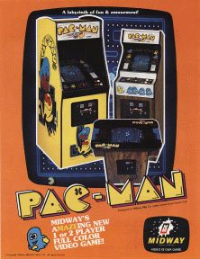 Pac-Man, considered one of the classics of video games, and an icon of 1980's pop culture
