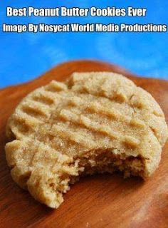 Worlds Best Recipes: The Best Peanut Butter Cookie You Will Ever Eat. CLICK PHOTO for this delightfully delicious peanut butter cookie recipe. You'll be so happy that you did.