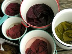 Deck dyeing... good info on dyeing wool and what to do if the colors don't come out right.
