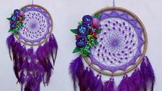 Wall Hanging Crafts, Dream Decor, Diy Room Decor, Feather, Dream Catchers, Purple, Youtube, Globe, Ideas