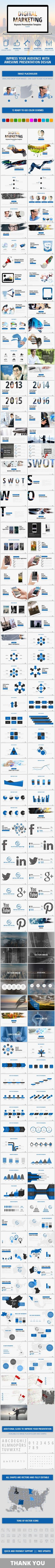 Digital Marketing - Business Keynote Presentation Template. Download here: http://graphicriver.net/item/digital-marketing-business-keynote-presentation/15930766?ref=ksioks