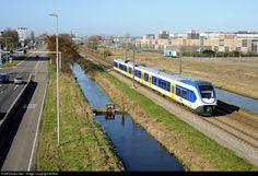 NS 2402 Nederlandse Spoorwegen NS Sprinter LightTrain at Haarlem, Netherlands by Bob