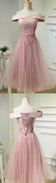 Prom Dresses Short, Homecoming Dresses Short, Pink Homecoming Dresses, Prom Short Dresses, Homecoming Dresses B0044