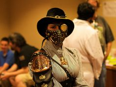 Steampunk & Clockwork Couture Inspired Fashion