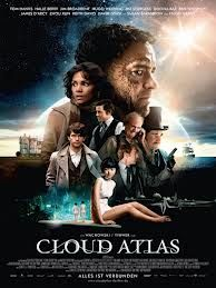 High resolution official theatrical movie poster ( of for Cloud Atlas Image dimensions: 2119 x Starring Tom Hanks, Halle Berry, Jim Broadbent, Hugo Weaving David Mitchell, Cloud Atlas Movie, Cloud Atlas 2012, Halle Berry, Film 2017, Hugo Weaving, 2012 Movie, Movie Tv, Movie Songs