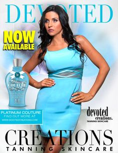 Devoted Creations Platinum Couture #tanninglotion