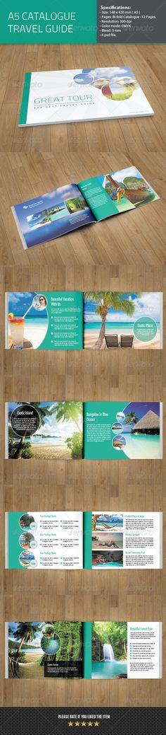 travel guide catalog brochure samplebrochure templatepsd - Egypt Brochure Templates