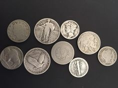 See Old Coin Values - Have old coins worth money? Find out here! See the value of old coins made in the Got old coins? What's an old coin's value today? You can find the value of old coins by using this comprehensive list for coins made between 1900 and Old Coins Worth Money, Old Coins Value, Rare Pennies, Valuable Coins, Valuable Pennies, Coin Worth, American Coins, Penny Coin, Error Coins