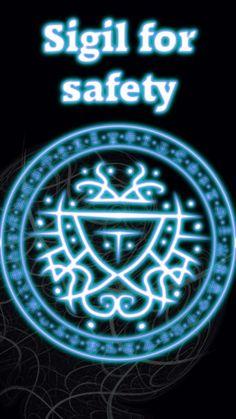 ☽✪☾...Sigil for safety