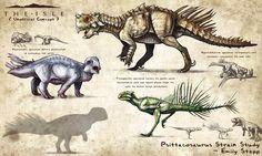 The Isle Fan Concept - Psittacosaurus Strains by EmilyStepp