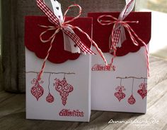 Geschenkverpackung von Ingrid  Stamps: Ornaments von Hot Off The Press