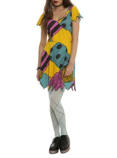 Sally for Halloween! The Nightmare Before Christmas Sally Cosplay Dress | Hot Topic; http://www.wikihow.com/Make-a-Sally-Costume-from-the-Nightmare-Before-Christmas