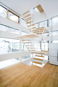 Nagano House : Jimmy Cohrssen  Stair...love it