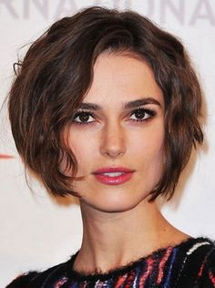Best Short Hairstyles 2015 for Square Faces Haircuts For Curly Hair, Short Curly Hair, Long Hair Cuts, Bob Hairstyles, Curly Hair Styles, Short Wavy, Medium Hairstyles, Haircut For Square Face, Square Face Hairstyles