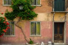 Old House by Stéphanie Masson on 500px - Colorful house facade on the island of Torcello (Venice, Italy).