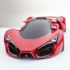 "@QuikDMV - ""Ferrari F80 Concept • 1200 HP TT V8 Hybrid"". #vehicleregistration #quickDMV #quikDMV."