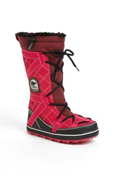 SOREL 'Glacy™ Explorer' Waterproof Boot available at #Nordstrom I want.