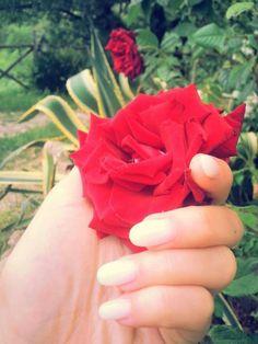 #rosa#rossa#neutro#latte#nails#tonde#semplici#fixelnailslaboratory