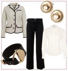 #Black & #White #business #chic by Brigitte von Boch #bevonboch