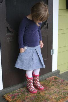Compagnie M Swing skirt