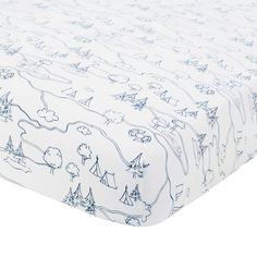 Your little adventurer will love Just Born's charming Adventure Crib Bedding Collection. The Crib Bedding Set includes a fitted crib sheet, a crib skirt, and a quilt for a fresh, contemporary look. Camping Nursery, Travel Theme Nursery, Nursery Themes, Nursery Ideas, Themed Nursery, Big Boy Bedrooms, Baby Boy Rooms, Baby Boy Nurseries, Theme Bedrooms