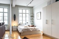 Myytävät asunnot, Purotie 3 E, Helsinki #oikotieasunnot #makuuhuone #bedroom #loft