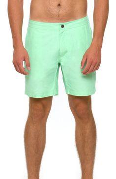 Onia Calder Trunk Green