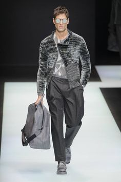 Male Fashion Trends: Emporio Armani Fall/Winter 2016/17 - Milán Fashion Week