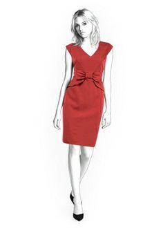 4288 PDF robe Couture patron - vêtements féminins, personnalisée pour votre taille faite sur commande