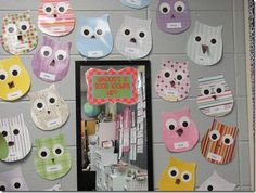 Good self esteem booster---for all the bucket fillers.  Also could be changed to Look Whoooo's a good reader! by library